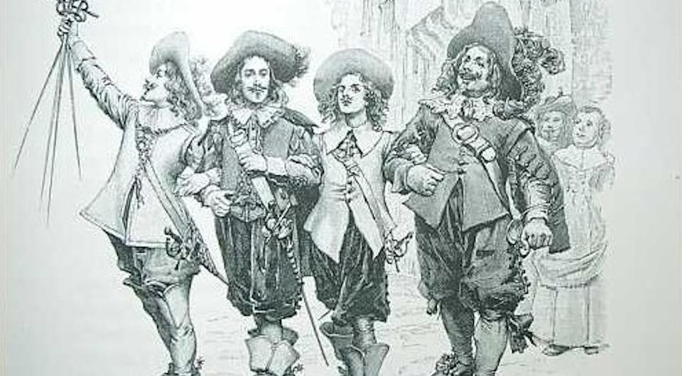 Quale personaggio sei dei 4 moschettieri?